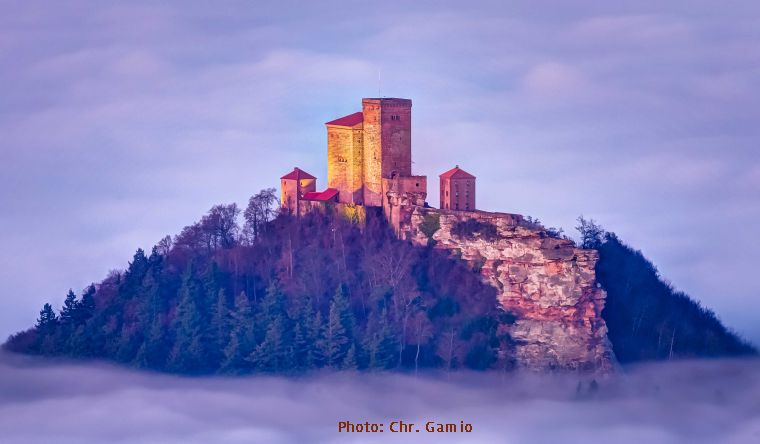 Trifels-Photo A. Riehn